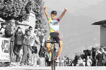 Alessandro Covi vittorioso sul Ghisallo