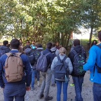 Gli studenti della facoltà di architettura, in visita sul Lago Maggiore