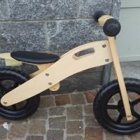 Leggera e resistente: prima bici senza pedali in legno, di fabbricazione tedesca e garanzia tedesca. Sellino regolabile, adatto per bambini dai 3 ai 4 anni.