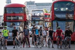 cyclists-london