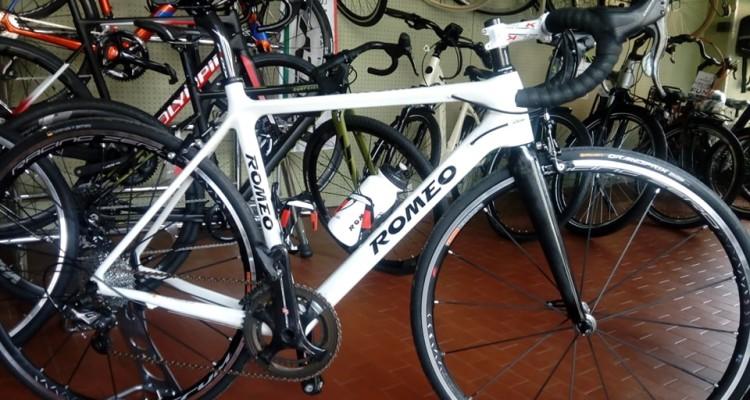 bici bianca